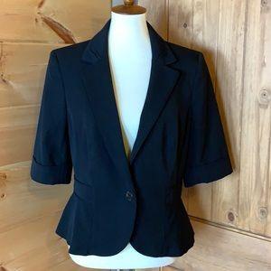 White House Black Market black blazer jacket 14